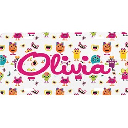 Girly Monsters Front License Plate (Personalized)