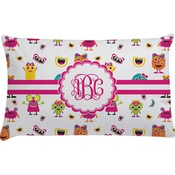 Girly Monsters Pillow Case (Personalized)