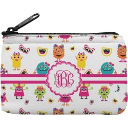 Girly Monsters Rectangular Coin Purse (Personalized)