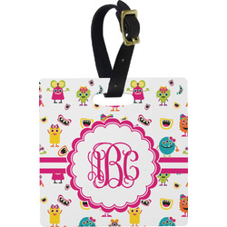 Girly Monsters Luggage Tags (Personalized)