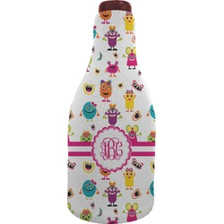 Girly Monsters Wine Sleeve (Personalized)