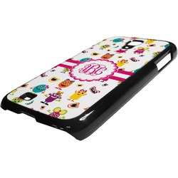 Girly Monsters Plastic Samsung Galaxy 4 Phone Case (Personalized)