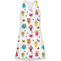 Girly Monsters Racerback Dress (Personalized)