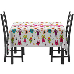 Girly Monsters Tablecloth (Personalized)