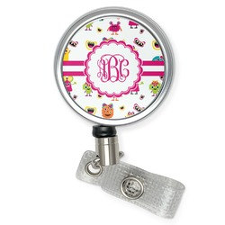 Girly Monsters Retractable Badge Reel (Personalized)