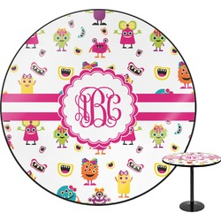 Girly Monsters Round Table (Personalized)