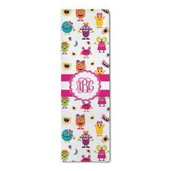 Girly Monsters Runner Rug - 3.66'x8' (Personalized)