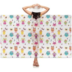 Girly Monsters Sheer Sarong (Personalized)