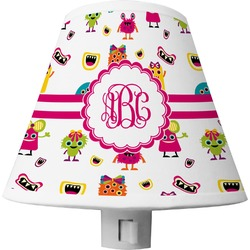 Girly Monsters Shade Night Light (Personalized)