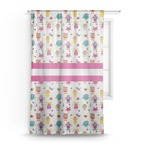 Girly Monsters Sheer Curtains (Personalized)