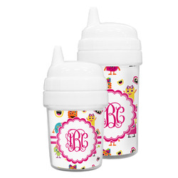 Girly Monsters Sippy Cup (Personalized)