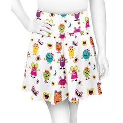 Girly Monsters Skater Skirt (Personalized)