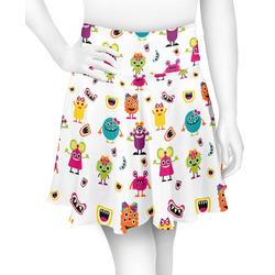 Girly Monsters Skater Skirt (Personalized)