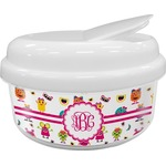 Girly Monsters Snack Container (Personalized)
