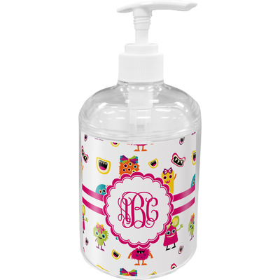 Girly Monsters Soap / Lotion Dispenser (Personalized)