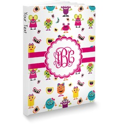 Girly Monsters Softbound Notebook (Personalized)
