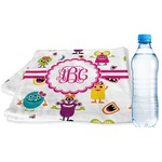 Girly Monsters Sports & Fitness Towel (Personalized)
