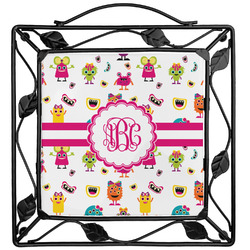 Girly Monsters Trivet (Personalized)