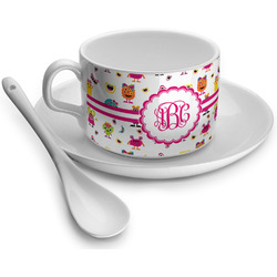 Girly Monsters Tea Cup - Single (Personalized)