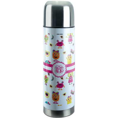 Girly Monsters Stainless Steel Thermos (Personalized)