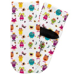 Girly Monsters Toddler Ankle Socks (Personalized)