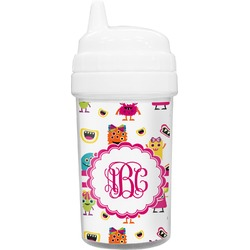 Girly Monsters Toddler Sippy Cup (Personalized)