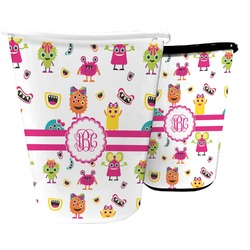 Girly Monsters Waste Basket (Personalized)