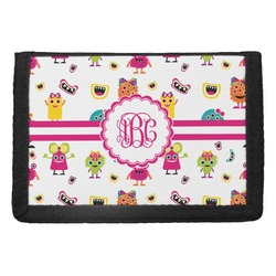 Girly Monsters Trifold Wallet (Personalized)