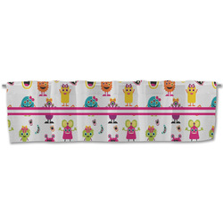 Girly Monsters Valance (Personalized)