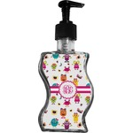Girly Monsters Wave Bottle Soap / Lotion Dispenser (Personalized)
