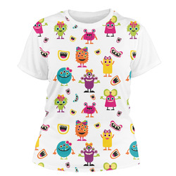 Girly Monsters Women's Crew T-Shirt (Personalized)
