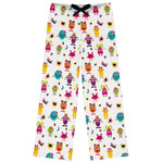 Girly Monsters Womens Pajama Pants (Personalized)