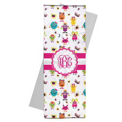 Girly Monsters Yoga Mat Towel (Personalized)