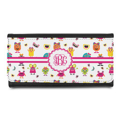Girly Monsters Leatherette Ladies Wallet (Personalized)