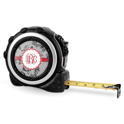 Black Lace Tape Measure - 16 Ft (Personalized)