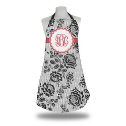 Black Lace Apron (Personalized)
