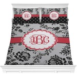 Black Lace Comforters (Personalized)
