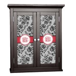 Black Lace Cabinet Decal - Custom Size (Personalized)