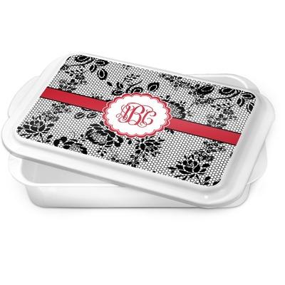 Black Lace Cake Pan (Personalized)