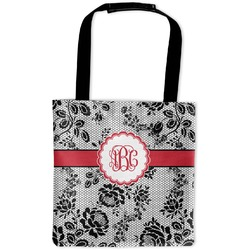 Black Lace Auto Back Seat Organizer Bag (Personalized)
