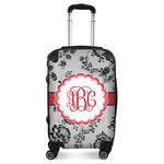 Black Lace Suitcase (Personalized)
