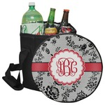 Black Lace Collapsible Cooler & Seat (Personalized)