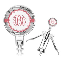 Black Lace Corkscrew (Personalized)