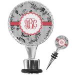 Black Lace Wine Bottle Stopper (Personalized)