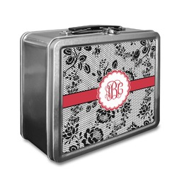 Black Lace Lunch Box (Personalized)