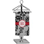 Black Lace Finger Tip Towel - Full Print (Personalized)