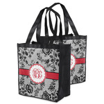 Black Lace Grocery Bag (Personalized)
