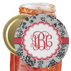 Black Lace Jar Opener (Personalized)