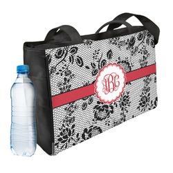 Black Lace Ladies Workout Bag (Personalized)