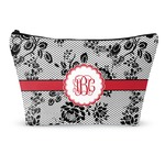 Black Lace Makeup Bags (Personalized)